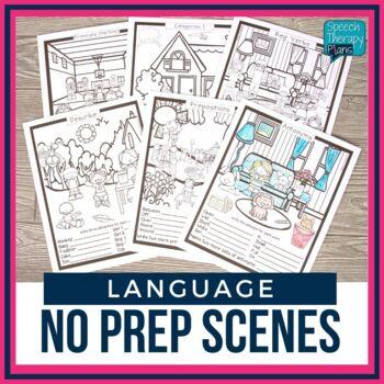No Prep Language Scenes
