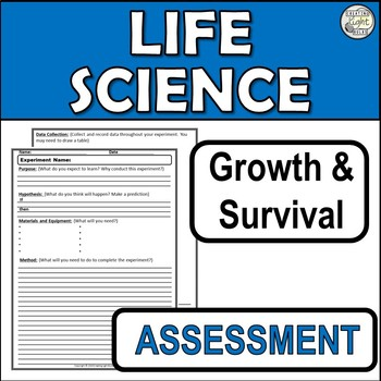 Environmental Conditions Assessment and EDITABLE Rubric.
