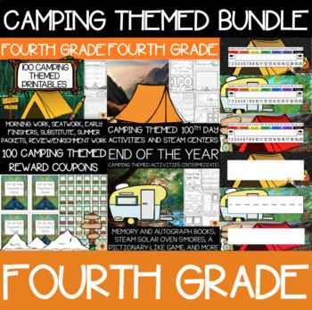 Fourth Grade Camping Supplies Bundle