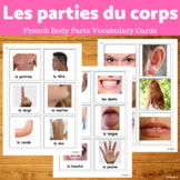 French Body Parts Vocabulary - Les parties du corps