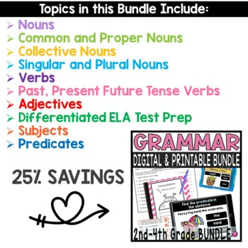 Back to School English Language Arts Bundle with Lesson Plans and Activities