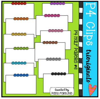 Half Pager #6 (P4 Clips Trioriginals Clip Art)