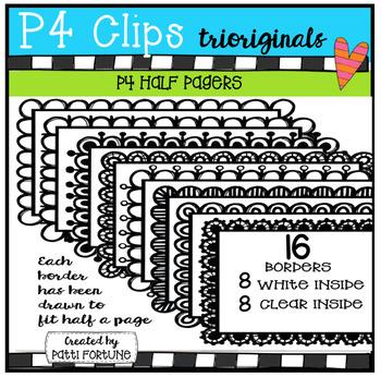 Half Pager #1 (P4 Clips Trioriginals Clip Art)