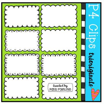 Half Pager Borders #3 (P4 Clips Trioriginals Clip Art)
