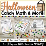 Halloween Candy Math Activities & More for 1st and 2nd Grade