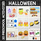 Halloween Preschool/ Kindergarten Unit - Math and Literacy