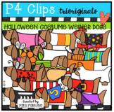 Halloweiner Doggies (P4 Clips Trioriginals Clip Art)
