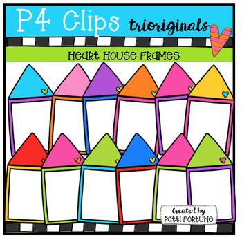 Heart House Frames (P4 Clips Trioriginals Clip Art)