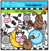 Hey Diddle Diddle (P4 Clips Trioriginals Clip Art)