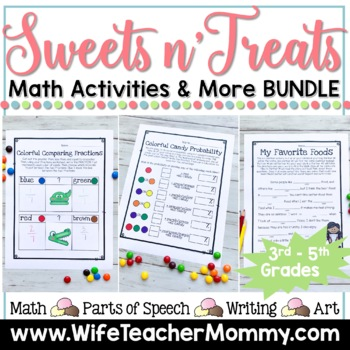 **50% OFF!**Holiday Math All Year Long GROWING Bundle for 3rd-5th Grades
