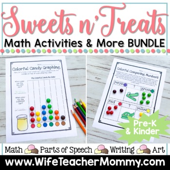 **50% OFF!**Holiday Math All Year Long GROWING Bundle for Pre-K and Kindergarten