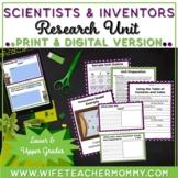 Scientists & Inventors/Inventions Research Unit Bundle- PR