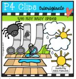 Itsy Bitsy Spider (P4 Clips Trioriginals Clip Art)