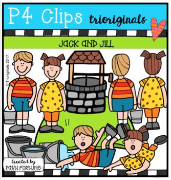 Jack and Jill (P4 Clips Trioriginals Clip Art)