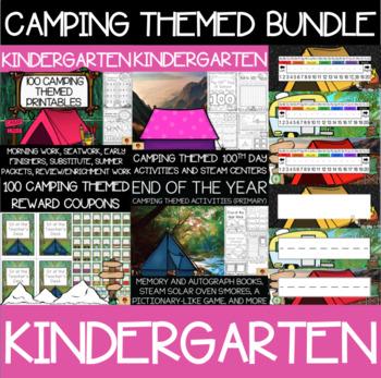 Kindergarten Camping Supplies Bundle