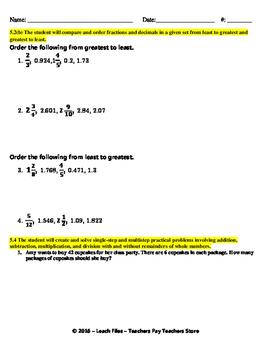 GRADE 5 Math Q1 BENCHMARK REVIEW