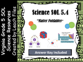 GRADE 5 VIRGINIA SCIENCE SOL 5.4 MATTER FOLDABLES