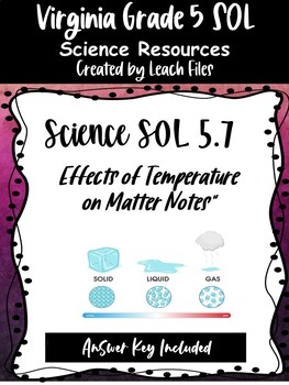 SOL 5.4B TEMPERATURE EFFECTS NOTES