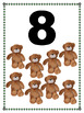 Learn to Count Toy Posters, Classroom Decor for Autism