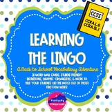 Learning the Lingo: A Back to School Vocabulary Adventure!
