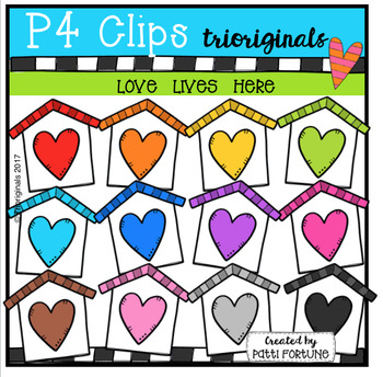Love Lives Here (P4 Clips Trioriginals Clip Art)