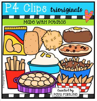 Made With Potatoes (P4 Clips Trioriginals Clip Art)