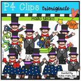 Magic Tricks (P4 Clips Triorginals Clip Art)