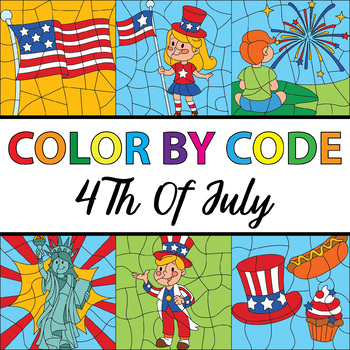 {50% OFF} Make Your Own Color By Number - 4th Of July Them