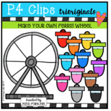 Make Your Own Ferris Wheel (P4 Clips Trioriginals Clip Art)