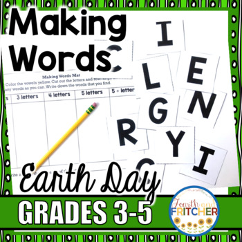 Making Words: Earth Day