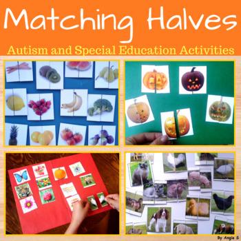 Matching Halves Bundle- Autism and Special Needs Activities