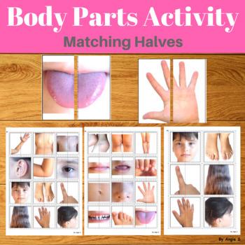 Matching Halves- Body Parts