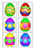 Matching Halves- Easter Eggs