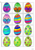 Easter Eggs - Matching Halves