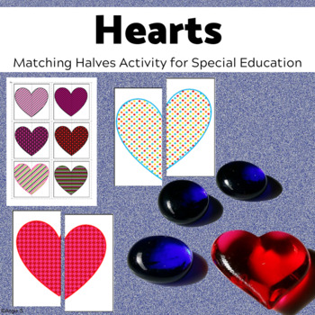 Matching Halves- Hearts