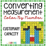 Measurement: Capacity Conversions Color By Number Mystery Picture