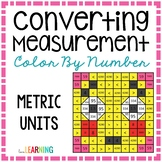 Measurement: Metric Conversions Color By Number Mystery Picture