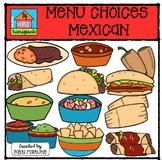 Mexican Create a Menu Choices (P4 Clips Trioriginals Digital Clip Art)