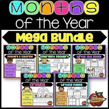 Months of the Year Mega Bundle