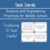 NGSS Science and Engineering Practice Task Cards for Middl