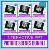 Digital Resources | Teletherapy | Picture Scenes Bundle |