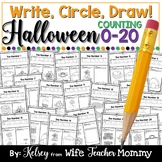 Halloween Number Worksheets 0-20 (Counting Worksheets)