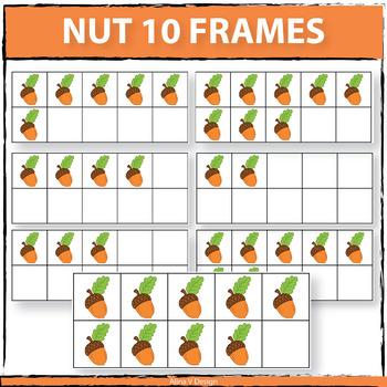 Nut 10 Frames Clipart