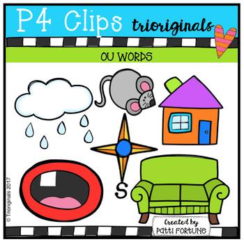 OU Words (P4 Clips Trioriginals Clip Art)