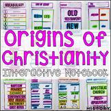 Origins of Christianity Interactive Notebook & Graphic Organizer World Religions