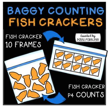 P4 BAGGY COUNTING Fish Crackers (P4 Clips Trioriginals CLip Art)