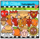 P4 CHEEKY Fall (P4 Clips Trioriginals Clip Art)