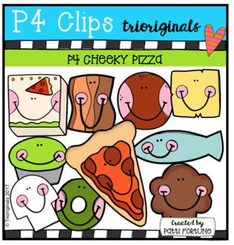 P4 CHEEKY PIZZA (P4 Clips Trioriginals Cip Art)