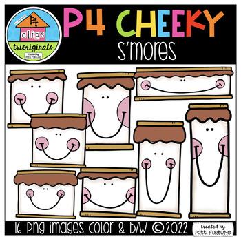 P4 CHEEKY S'mores (P4 Clips Trioriginals Clip Art)