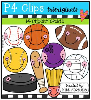 P4 CHEEKY Sports (P4 Clips Trioriginals Clip Art)